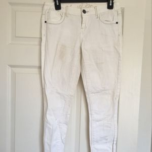 Vanilla Star White Denim Jeans